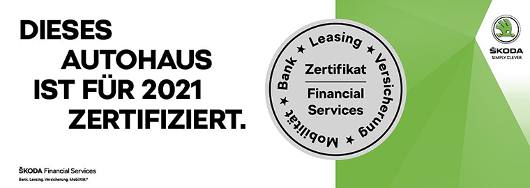 Autohaus Herold Financial-Service-Zertifikat 2021