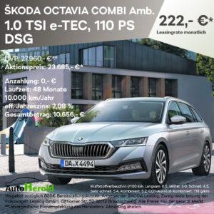 Autohaus Herold, Anzeige zum Angebot ŠKODA OCTAVIA