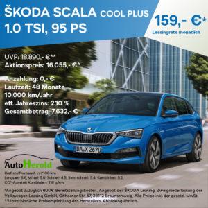Autohaus Herold, Anzeige zum Angebot ŠKODA SCALA