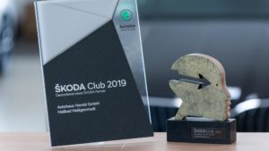 Autohaus Herold Heiligenstadt, Auszeichnung ŠKODA Club