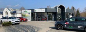 Autohaus Herold Worbis, Außenbereich