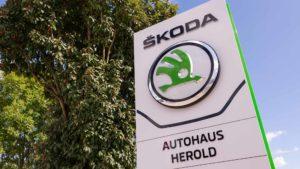 Autohaus Herold Worbis, Firmenschild